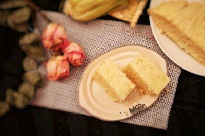 简单易学的玉米发糕