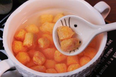 胡萝卜虾球