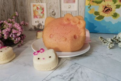 火龙果大米发糕