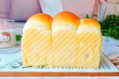 松软奶香吐司面包