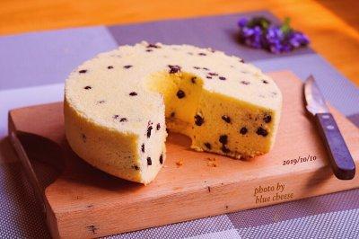 蓝莓奶酪戚风蛋糕