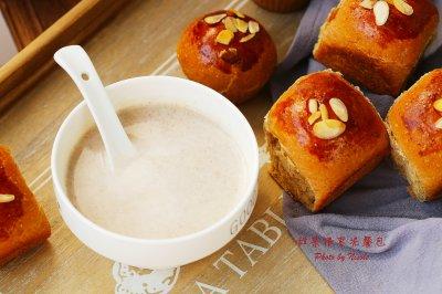 秋日温暖早餐:红米红枣豆