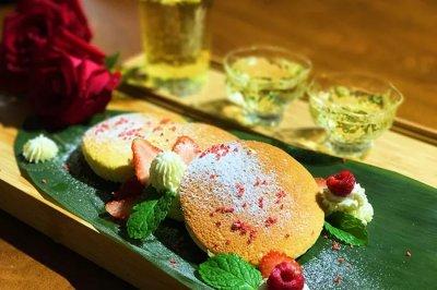 日式白菊松饼舒芙蕾