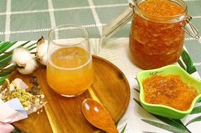蜂蜜柚子茶止咳润肺清热化痰