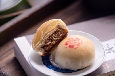 苏式鲜肉月饼传统点心