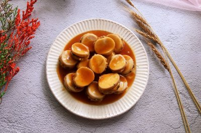 蚝油杏鲍菇肉夹