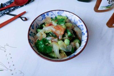 中华风水母沙拉