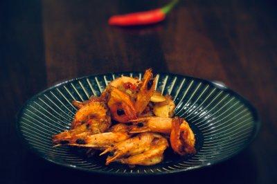 椒盐虾别说吃饭没胃口