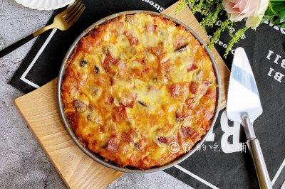 培根蘑菇披萨