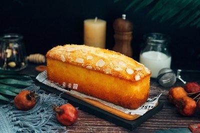 杏仁磅蛋糕