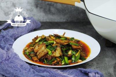 川菜蒜苗回锅肉