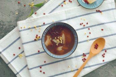年糕红豆汤