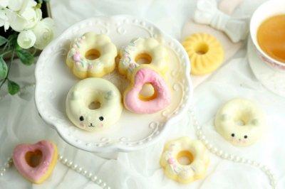 柠檬玛德琳版甜甜圈