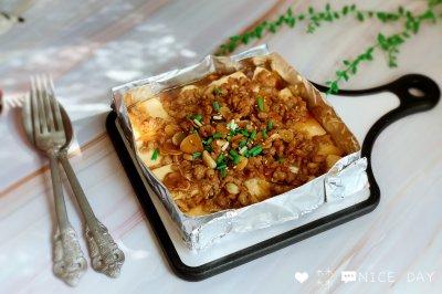 锡纸烤豆腐