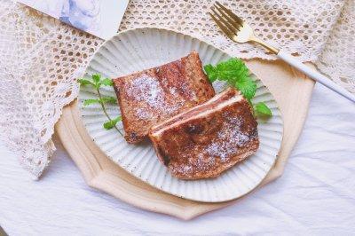 爆浆熔岩巧克力三明治