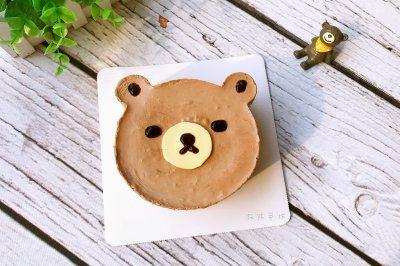 小熊可可慕斯蛋糕