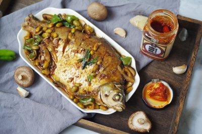 风味美无边一碗饭不够吃红油豆腐乳红烧鱼