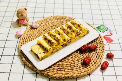 红枣烤年糕
