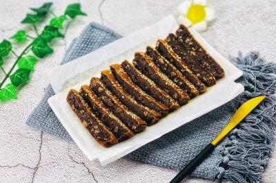 蜜豆红糖烤年糕