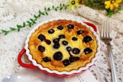 蓝莓爆浆酸奶蛋糕