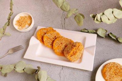薯泥肉松饼