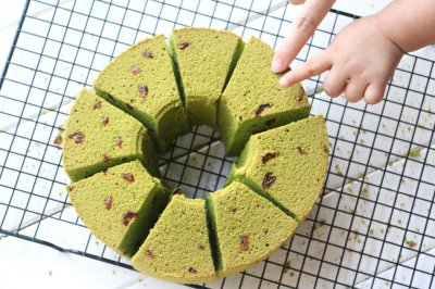 蔓越莓抹茶蛋糕