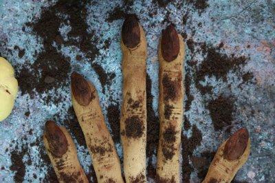 女巫手指饼干万圣节零食
