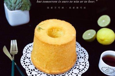 柠檬酱戚风蛋糕