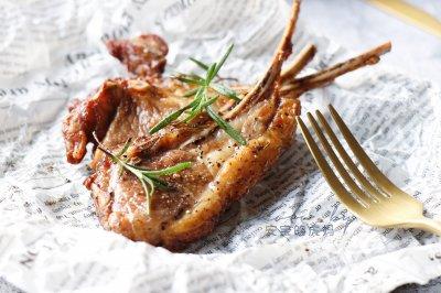 香烤法式羊排