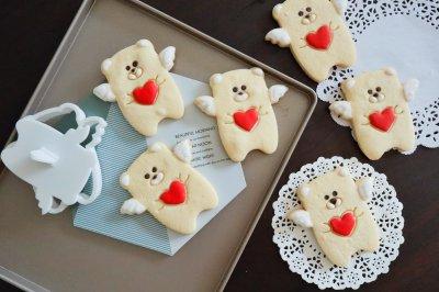 天使熊糖霜饼干