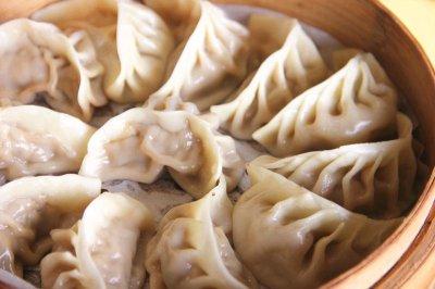 秋冬暖餐莲藕鲜肉蒸饺