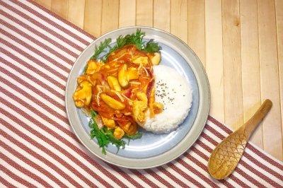 西红柿炖鸡胸减脂好食谱