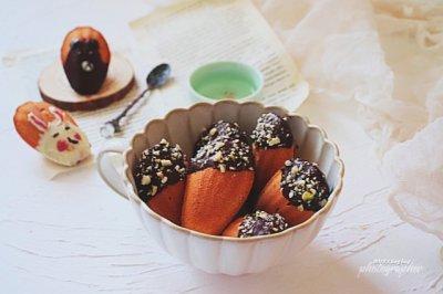 巧克力榛果玛德琳