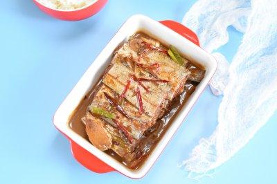 蚝油柚香带鱼