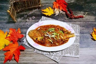 美味无敌……韩式泡菜大黄鱼