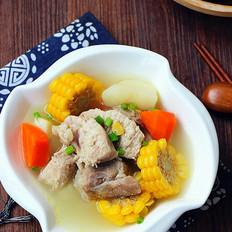 玉米荸荠排骨汤