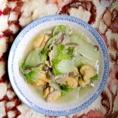 大白菜炒蘑菇