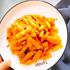 蛋黄红薯条
