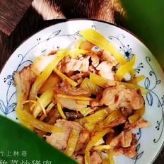酸菜炒猪肉