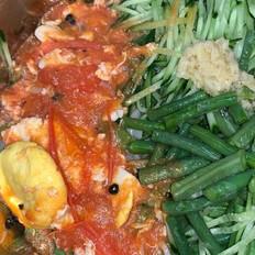 河北冷汤-西红柿鸡蛋打卤面