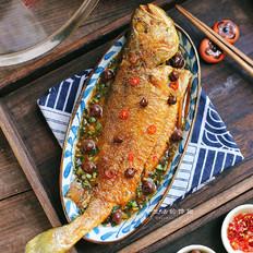 山黄皮焖黄花鱼