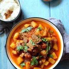 牛排炖土豆