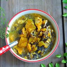 紫菜南瓜汤