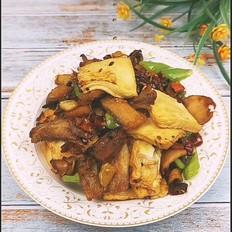 小炒千页豆腐
