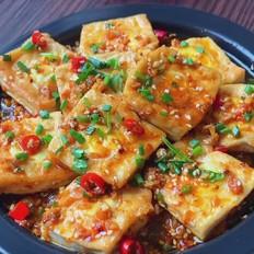 烧烤味豆腐煎蛋