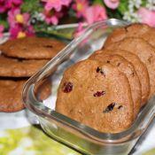 红糖蔓越莓饼干