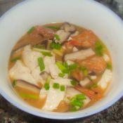 香菇豆腐虾汤