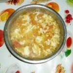 鸡蛋西红柿面片汤