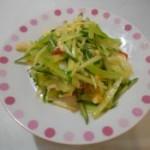 鹅掌拌黄瓜