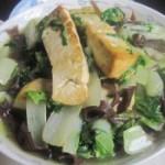 豆腐黑木耳炒白菜